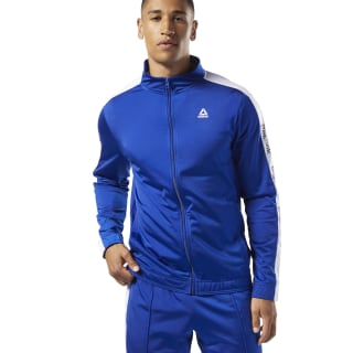 Спортивная куртка Training Essentials Linear Logo cobalt FI1938