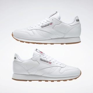 New Reebok Workout Plus Classic Leather Mens athletic sneaker white gum all size | eBay