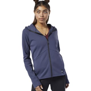 Training Supply Hooded Sweatshirt Heritage Navy EC1212