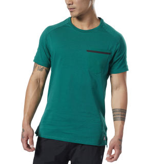 Training Supply Move Tee Clover Green EC0724