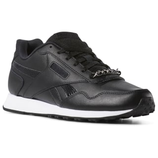 Tênis Reebok Royal Glide Lx black / white / jewelry CN7319