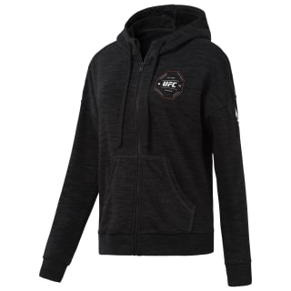 Sudadera UFC Full Zip Black D94702