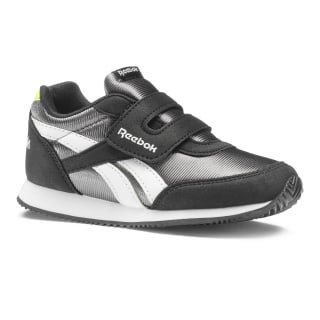 Reebok Royal Classic Jogger 2.0 KC - Enfant Black / True Grey / Neon Lime / White DV4046