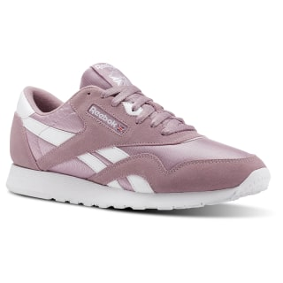 Classic Leather Nylon M Sf-Infused Lilac / White CN3265