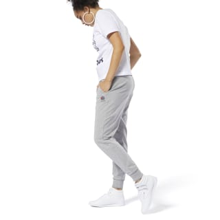 Calça Classics French Terry Medium Grey Heather DT7247
