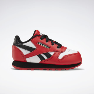Classic Leather Shoes Primal Red / Black / White FW6832