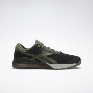 Reebok Nano 9 Black / Canopy Green / True Grey 4 EG7950