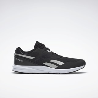 Reebok Runner 4.0 Shoes Black / Silver Metallic / White FW7846