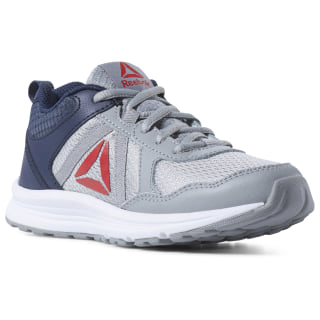 Reebok Almotio 4.0 Shoes True Grey / Collegiate Navy / Primal Red / White CN8579