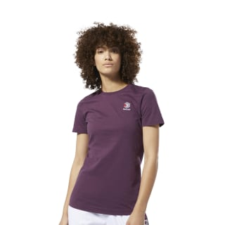 Camiseta Classics Small Logo Infused Lilac DT7229