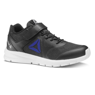 Reebok Rush Runner Shoes Black / Vital Blue CN7251