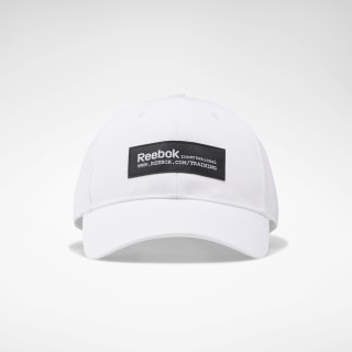 Training Graphic Baseball Cap White EC5649