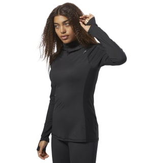 Sweat à capuche couvrant Thermowarm Touch Black CY2448