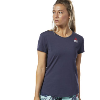 T-shirt Reebok CrossFit® Games ACTIVCHILL + Coton Heritage Navy / Heritage Navy DY8417
