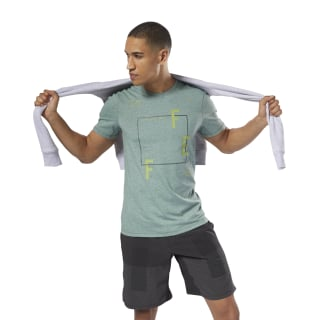 T-shirt Reebok CrossFit MOVE Chalk Green CY4972