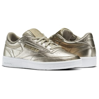 Club C 85 Melted Metals Gold/Pearl Met-Grey Gold/White BS7901