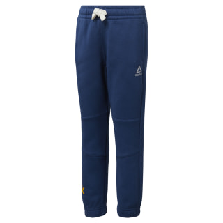 Boys Training Essentials Fleece Pant Bunker Blue DJ3077