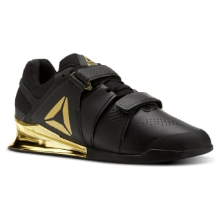 Reebok Legacy Lifter Men's Weightlifting Shoes Black / Gold BS5980