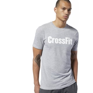 Camiseta Reebok CrossFit® Medium Grey Heather / White EC1469
