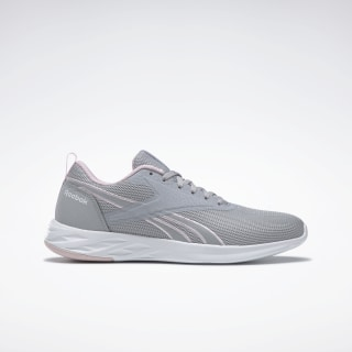 Reebok Astroride Essential 2.0 Shoes Cold Grey 2 / Pixel Pink / White FU7130