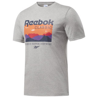 Camiseta Classics Trail Medium Grey Heather FM5027