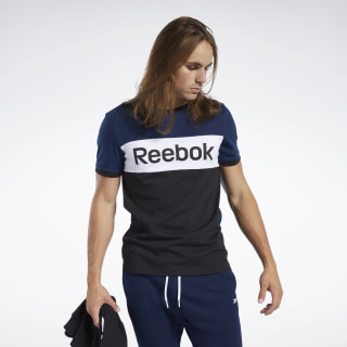 Training Essentials Linear Logo Tee Collegiate Navy FK6124