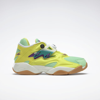 Pump Court Shoes Hero Yellow / Seafoam Green / Chalk FV7901