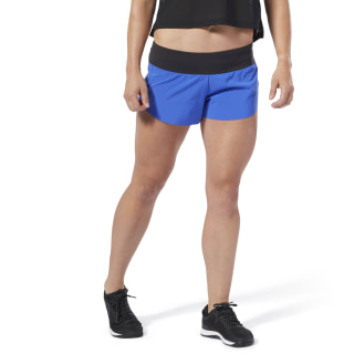 Spodenki Reebok CrossFit® Knit Waistband Placed Crushed Cobalt DU5076