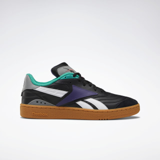 Club C RC 1 Shoes Black / Gum / Turquoise / Purple DV8668