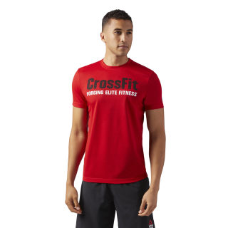 Reebok CrossFit Speedwick F.E.F. Graphic Tee Primal Red CF4549