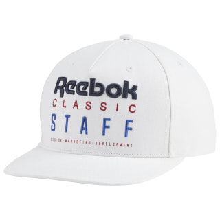 Classics Staff 6 Panel Hat White DU7521