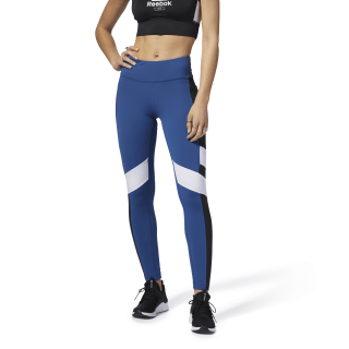 Lux Legging - Color Block Bunker Blue / Black D94132