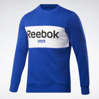 Sweat avec logo linéaire Training Essentials Cobalt FI1921