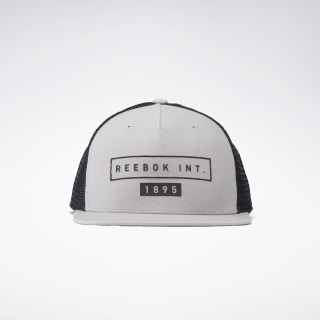 Casquette One Series Training Flat Peak Powder Grey FL5157