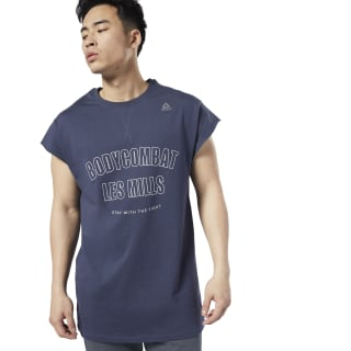 LES MILLS® BODYCOMBAT® T-Shirt Heritage Navy ED0568