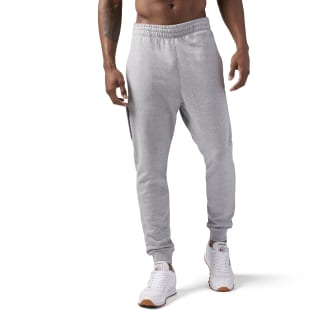 Pantalones deportivos de felpa francesa con zipper MEDIUM GREY HEATHER CD7453