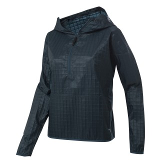 Training Supply Hybrid Woven Jacket Blue Hills DU4055