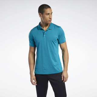Workout Ready Polo Shirt Seaport Teal FP9113