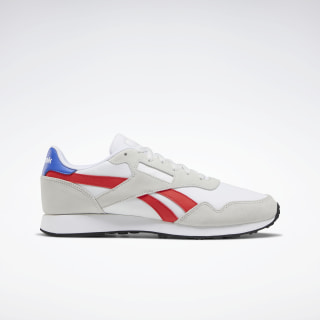 Reebok Royal Ultra Shoes White / True Grey / Radiant Red EG9398