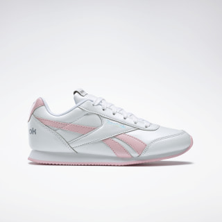 Reebok Royal Classic Jogger 2.0 Shoes White / Pink Glow / Iridescent DV9008