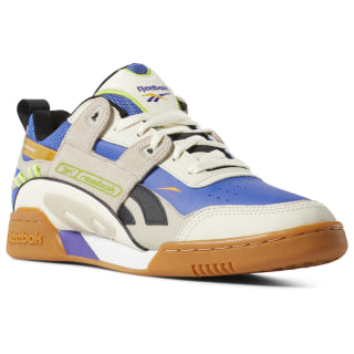 Workout Plus ATI 90s Shoes Cream / Sand / Cobalt / Lime DV5495