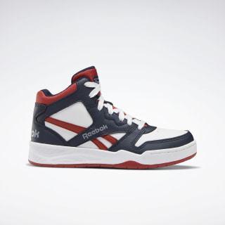 Reebok BB4500 Court Shoes Collegiate Navy / Legacy Red / Cold Grey 4 EH3211