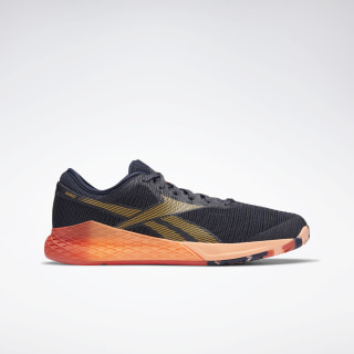 Reebok Nano 9 Men's Training Shoes Heritage Navy / Rosette / Sunglow EG0600