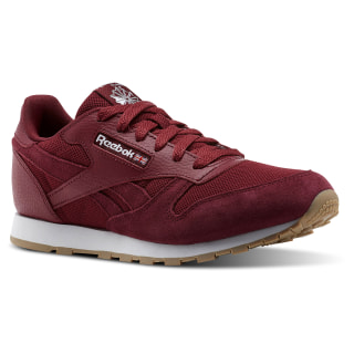 Classic Leather ESTL Urban Maroon / White CN1134