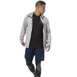 Speedwick Full-Zip Hoodie Medium Grey Heather CY4918
