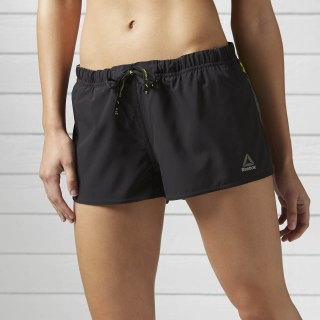 Running Bedrukte Boardshort Black S97544