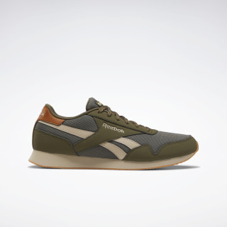 Reebok Royal Classic Jogger 3.0 Shoes Army Green / Modern Beige / Reebok Rubber Gum-06 EG9411