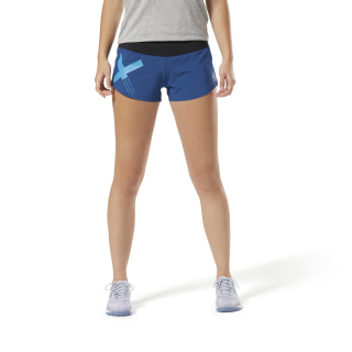 Short en maille Reebok CrossFit - Graphic Bunker Blue D94945