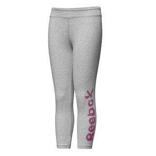 Girls Elements 7/8 Legging Medium Grey Heather DH4371