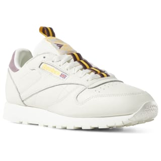 Кроссовки Classic Leather White/CHALK/ORCHID/GOLD/EARTH DV4083